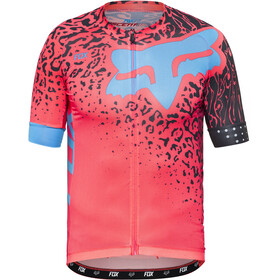 Fox Ascent Comp Maillot manches courtes Homme, neo red